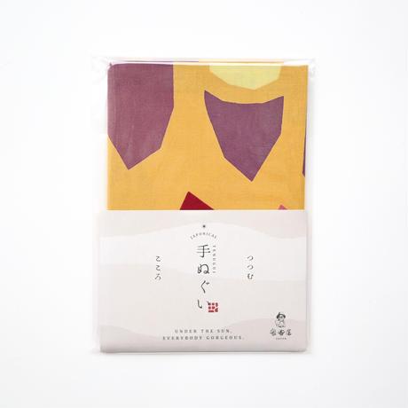 オリジナル手ぬぐい【土からの焼き芋】