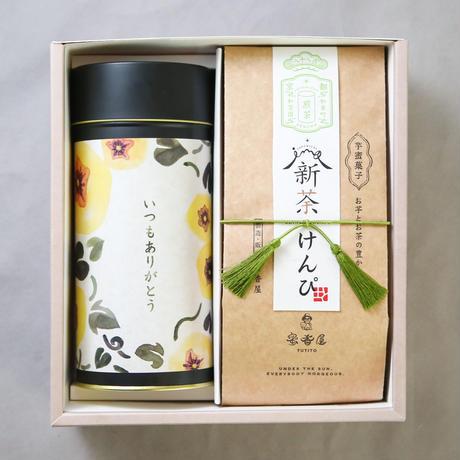 【父の日ギフト】新荼けんぴ入  2つ詰合せ 《煎茶・ぶれんど》