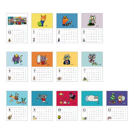 NEKOKEN 2022年カレンダー 2101730033868