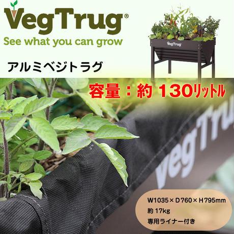 【アルミ ベジトラグ】プランター 家庭菜園(ベランダ 教材 ガーデニング 植物)TK-908(VGT-AL01)