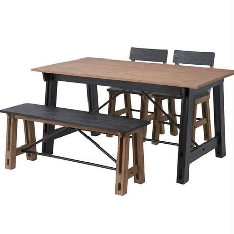 テーブル【Azumaya 東谷】Isaac アイザック ダイニングテーブル 天然木 インテリア 木製 家具 テラス カフェ アトリエ 教室 AZ ( NW-853T )