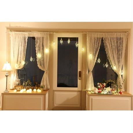 室内用 イルミネーション LED ジュエリーバルブ カーテンライト 15個 電球 ショップ プレゼント イベント【JB15D】CR-99