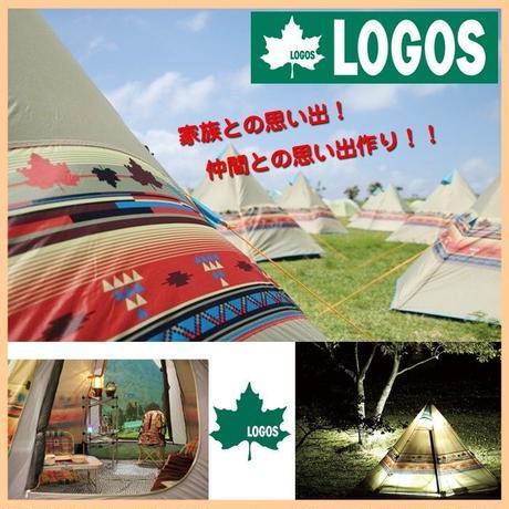 テント【LOGOS ロゴス】Navajo ナバホ Tepee 300 ティピー キャンプ アウトドア 収納 レジャー ( GA9-407 )