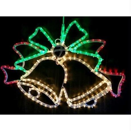 LED イルミネーション ディスプレイ 飾り 照明 ライティング クリスマス  ツインベル【 L2DM297 】CR-69