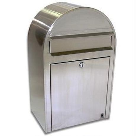 POST 【 BOBI ボビ 】 郵便 ポスト ステンレス シンプル 海外製 外国製 前入れ前出し 【 AAH01A 】 GA-33