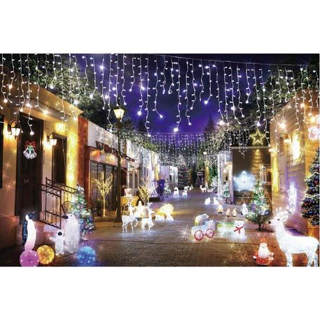 LED イルミネーション ディスプレイ 飾り 照明 ライティング クリスマス   雪だるま クリスタルスノーマン【 L3D358 】 CR-81
