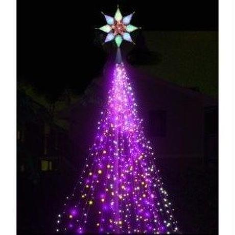 LED イルミネーション ディスプレイ 飾り 照明 ライティング クリスマス  トップスターオーロラ【 L2DM205 】