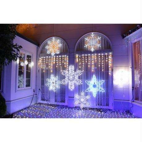 イルミネーション ディスプレイ 飾り 照明 ライティング クリスマス  LEDスター8連【LDCM071】