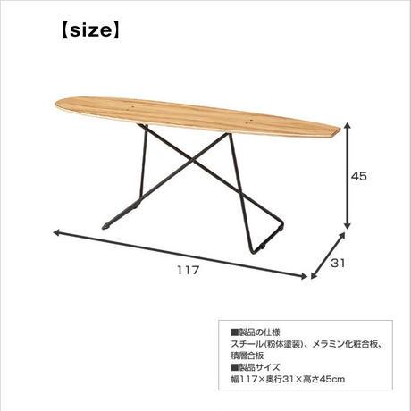 テーブル【Azumaya 東谷】スケートボード型 木製 インテリア ディスプレイ 飾り プレゼント お店 AZ25-101 ( SF-200 )