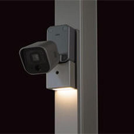 スマートエクステリア ホームネットワークシステム 【LED照明付】屋外・カーポートカメラset