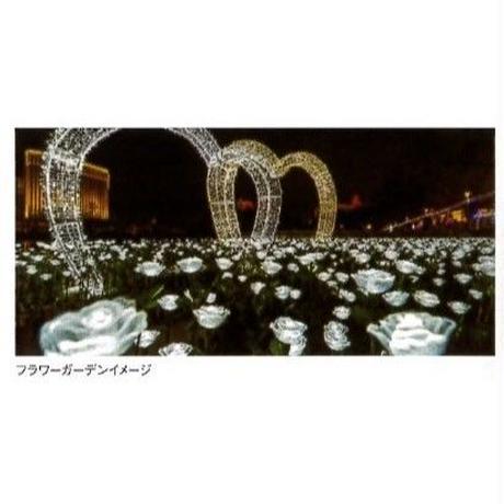 菊 LED 光る フラワーライト 花 イルミネーション ディスプレイ 飾り 照明 ライティング クリスマス 10本セット 庭 ガーデン  CR-59