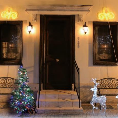 イルミネーション ディスプレイ 飾り 照明 ライティング クリスマス   LED ハート【 L2DM202 】 CR