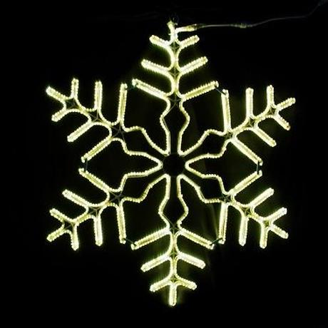 LED イルミネーション ディスプレイ 飾り 照明 ライティング クリスマス  雪 スノーフレーク 電球色【 L2DM704 】CR-76