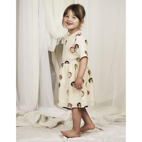 mini rodini ミニロディーニ  MONKEYS WOVEN DRESS  ワンピース  定価$89