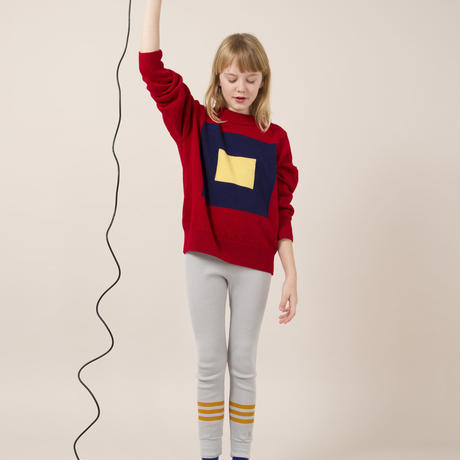 BOBO CHOSES yellow stripes Leggings レギンス 定価$108