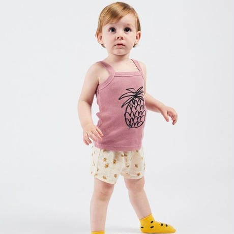 BOBO CHOSES ボボショーズPineapple Tank Topトップス