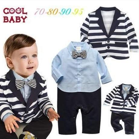 子供用 長袖フォーマル服 スーツ