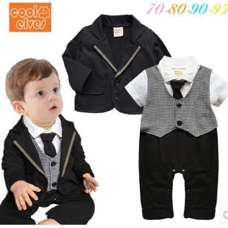 子供用 長袖フォーマル服 スーツ  976-026