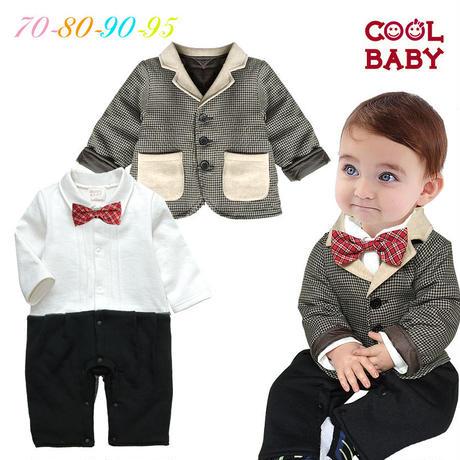 子供用 長袖フォーマル服 あったかスーツ