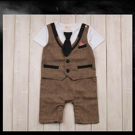 子供用 半袖フォーマル服 タキシード  baby-204