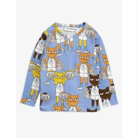 mini rodini ミニロディーニ CHEER CATS GRANDPA SHIRT シャツ 定価$59