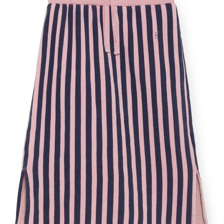 BOBO CHOSES  drawstring striped straight skirt 定価$158