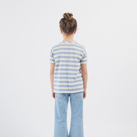 BOBO CHOSES ボボショーズ Shall You Dance Striped T-Shirtトップス