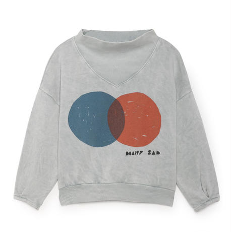 BOBO CHOSES rib collar sweatshirts トレーナー 定価$128