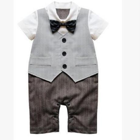 子供用 半袖フォーマル服 スーツタキシード