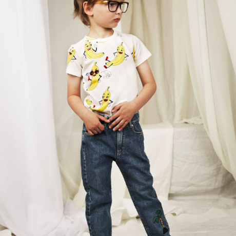 mini rodini ミニロディーニ  BANANAS PRINTED T-SHIRT Tシャツ 定価$39