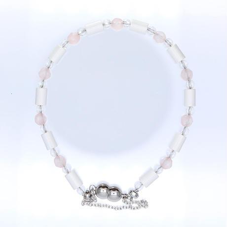 ブランブレスレット - Blanc Bracelets -<ローズクォーツ>タイプ【送料無料】