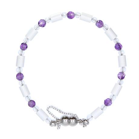 ブランブレスレット - Blanc Bracelets -<アメジスト>タイプ【送料無料】