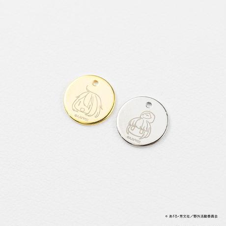 ゆるキャン△ 根付ストラップ 「水引の美 結」 本水晶使用 オリジナルメタルチャーム付き