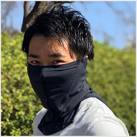【スポーツ・ネックマスク】マスクにもなるネックウォーマー