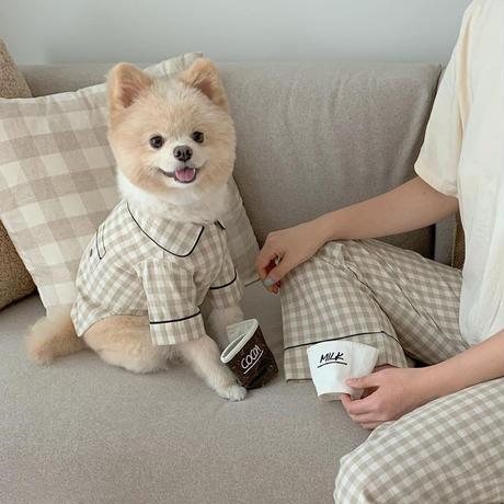 リラックスチェックパジャマ