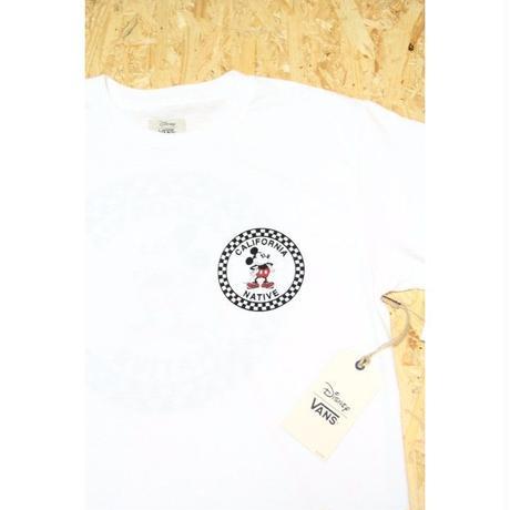 VANS × Disney CA T-Shirt バンズ ディズニー Tシャツ WHITE ホワイト ミッキーマウス カリフォルニア