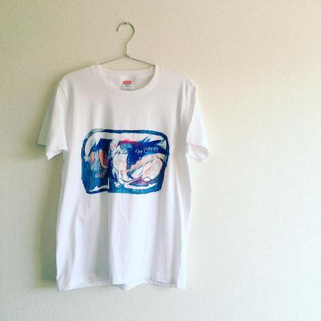 Tシャツ「つつむよる」ペイントver
