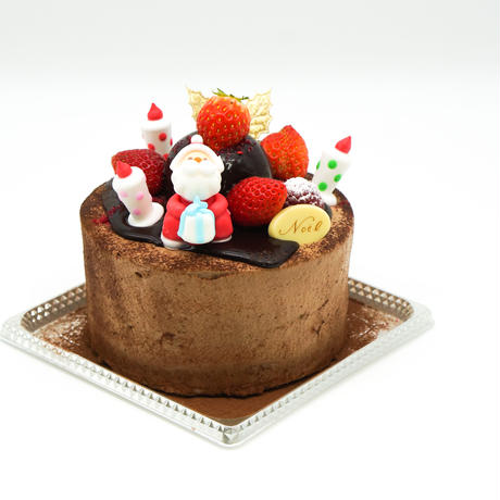 【店頭受取/ご予約商品】生チョコショートケーキ【5号】直径15cm