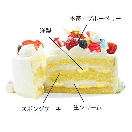 【店頭受取/ご予約商品】生クリームショートケーキ【6号】直径18cm