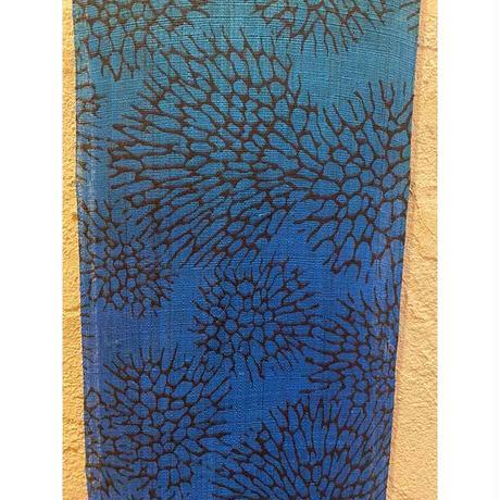 サンゴ染 ブルータペストリー(首里琉染)