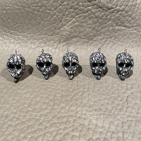 FIMO Psychedelic  Skull  Hippie Charm