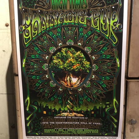 20th  High Times Cannabis Cup Art Poster 2007