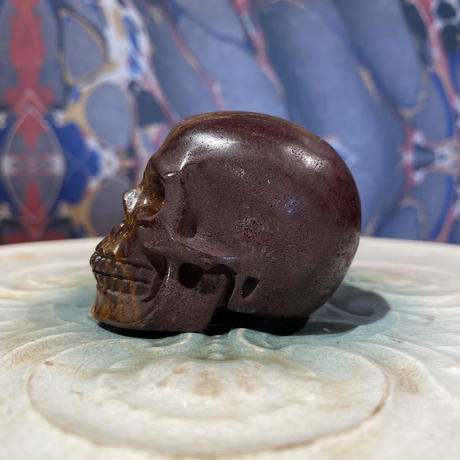 Elephant Skin   Jasper  Skull