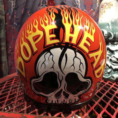 Vintage  DOPE HEAD  Helmet