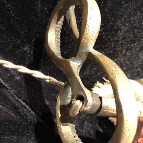 Art  Deco  Bronze Cobra  Lamp