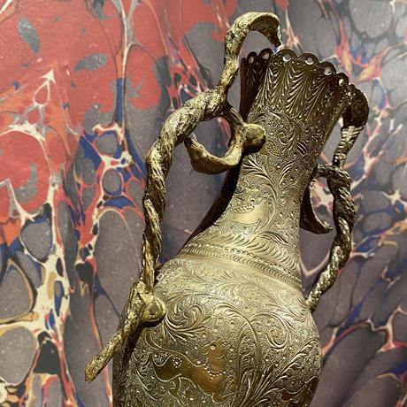 Vintage Cobra  Brass Pot