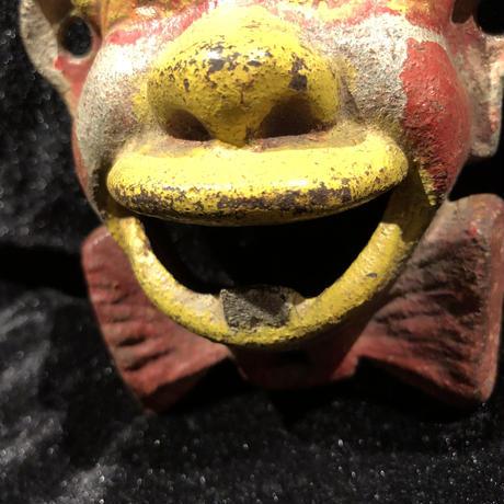 Vintage Cast Iron Clown Bottle Opener