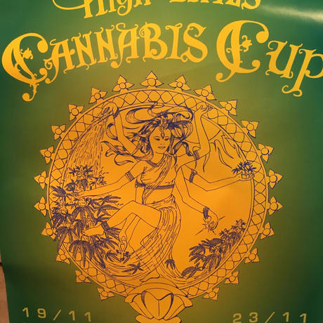 13th  High Times Cannabis Cup Art Poster