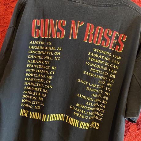 "Vintage GUNS N' ROSES  ""Bad Apples""  T-Shirt"