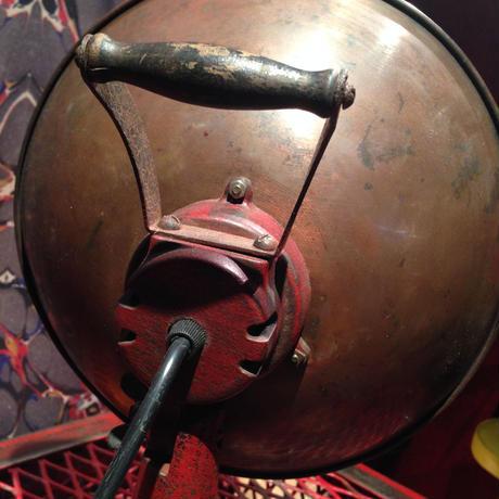 Vintage  Copper  Heat  Lamp/Desk Lamp